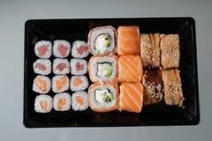 Conjunto del sushi Fotos de archivo