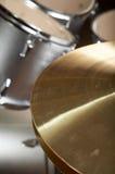 Conjunto del tambor imagenes de archivo