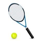Conjunto del tenis Imágenes de archivo libres de regalías