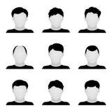 Conjunto del vector de iconos de la gente Imagen de archivo libre de regalías