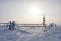 Conjunto do gás Fotografia de Stock