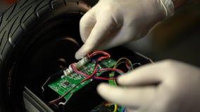 Conjunto e reparo do 'trotinette' do giroscópio Serviço 6 de Hoverboard filme