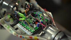 Conjunto e reparo do 'trotinette' do giroscópio Serviço 9 de Hoverboard video estoque