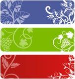 Conjunto floral de la bandera