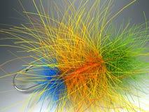 Conjunto Fly-Fishing Imagenes de archivo