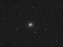 Conjunto Globular de M13 Hercules imagem de stock royalty free