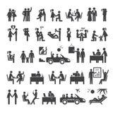 Conjunto grande de iconos Imágenes de archivo libres de regalías