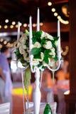 Conjunto hermoso del vector de la boda Concepto de la recepción nupcial Fotografía de archivo libre de regalías