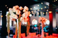 Conjunto hermoso del vector de la boda Concepto de la recepción nupcial Foto de archivo libre de regalías
