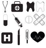 Conjunto médico Imagen de archivo libre de regalías