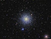 Conjunto M3 globular imagem de stock
