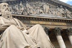 Conjunto nacional francês em Paris fotos de stock royalty free