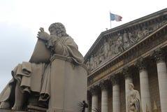 Conjunto nacional francês em Paris imagens de stock
