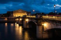 Conjunto nacional francês, Paris, France Imagem de Stock