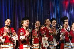 Conjunto popular Kazachya Volnitsa Fotografia de Stock