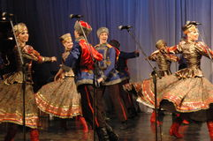 Conjunto popular Kazachya Volnitsa Imagem de Stock