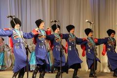 Conjunto popular Kazachya Volnitsa Foto de Stock