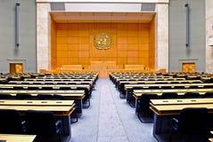 Conjunto salão: Palais des Nations/palácio das nações foto de stock