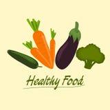 Conjunto sano del alimento libre illustration