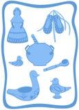Conjunto tradicional ruso 3 libre illustration