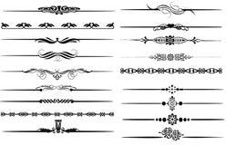 Conjunto tribal ilustración del vector