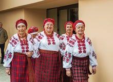 Conjunto ucraniano popular foto de stock royalty free