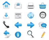 Conjunto universal del icono imágenes de archivo libres de regalías