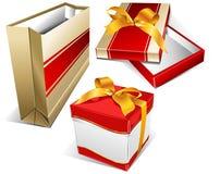 Conjunto y rectángulo dos Imágenes de archivo libres de regalías