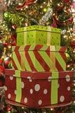 Conjuntos de la Navidad Imagen de archivo libre de regalías