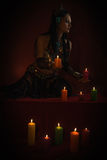 Conjuration Stock Photo