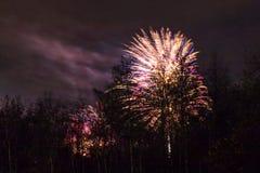 Conkers στα πυροτεχνήματα εθνικών δρυμός Στοκ φωτογραφία με δικαίωμα ελεύθερης χρήσης