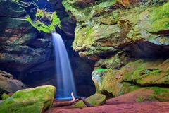 Conkles凹陷状态自然保护区 免版税库存照片