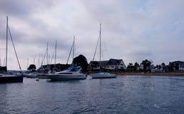 Conleau港口  免版税图库摄影