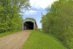 Conley's Ford Covered Bridge Stock Images
