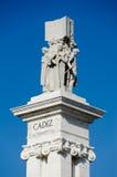 Conmemoración de la primera constitución española Foto de archivo
