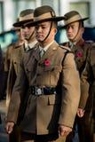 Conmemoración 2018 de Sandhurst fotografía de archivo libre de regalías
