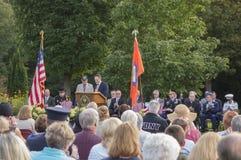 Conmemoración del día de los patriotas Fotos de archivo