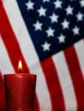 Conmemoración patriótica foto de archivo libre de regalías