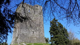 Conna Castle Conna County Cork Ireland. With blue skies Royalty Free Stock Photography