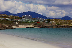 Connacht, beach. Beach in Co. Galway, near Roundstone royalty free stock photography