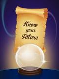 Connaissez votre avenir illustration stock