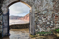 Connaught Gardens At Sidmouth Stock Image