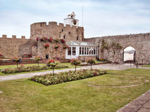 Connaught public gardens, Sidmouth, Devon, UK. royalty free stock images