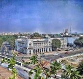 Connaught ställe, New Delhi Arkivbilder