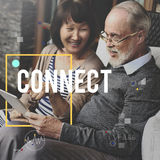 Connect Communication Technology Internet Lifestyle Concept royalty free stock photos