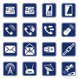 Connect icons Royalty Free Stock Photos