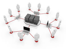 Connect to Server Stock Photos