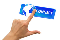 Connect with world 2 Royalty Free Stock Photos