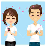 Connected Love Stock Photo