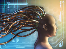 Connected mind Royalty Free Stock Image